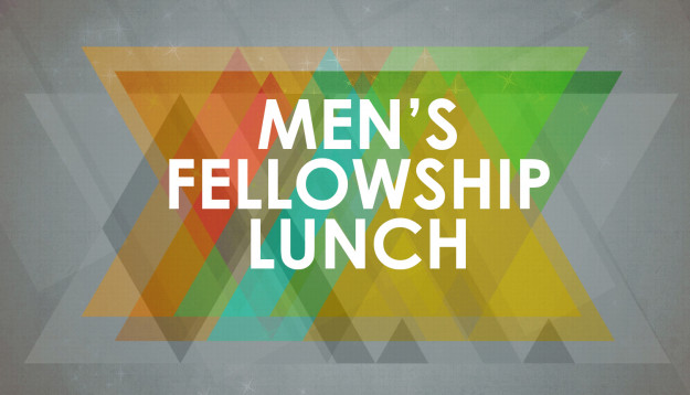 Mr. Michael Birley on behalf of Men's Fellowship invites you to the next MF Lunch (14 September 2018