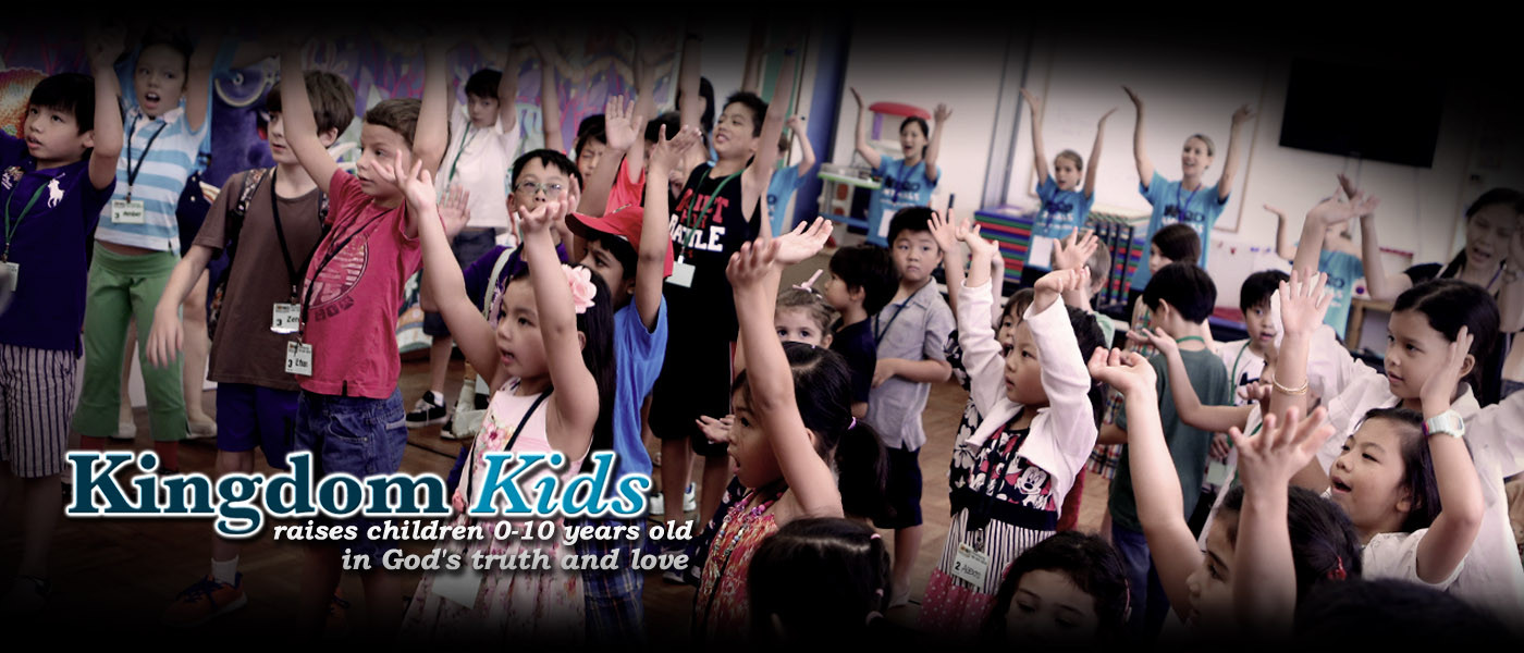 Kingdom Kids raises children 0-10 years old in God's truth and love.