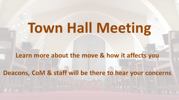 Town Hall Meeting - BUFF