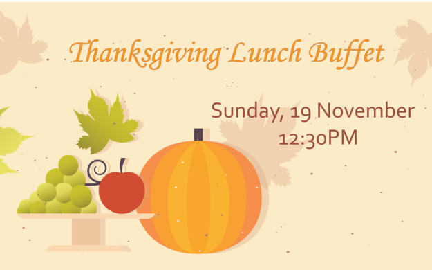 Thanksgiving Lunch Buffet