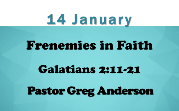 14 Jan 2018 Sermon Title