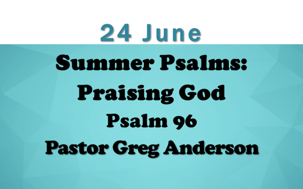 24 June 2018 Sermon Title | Union Church