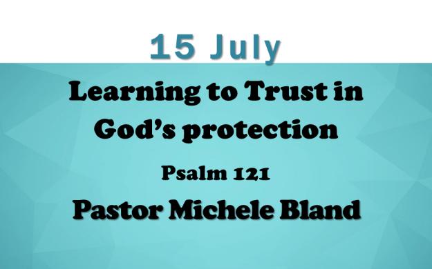15 July 2018 Sermon Title