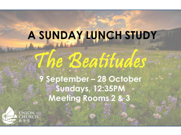 The Beatitudes: A Sunday lunch study