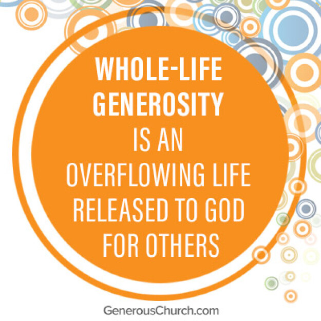Overflow: A Life Refreshed by Generosity.