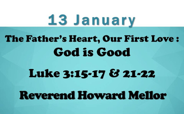 13 January 2019 Sermon Title.