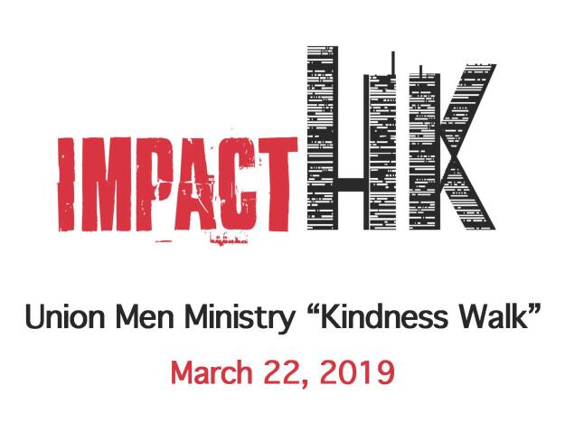 "Union Men ""Kindness Walk"" with Impact HK"