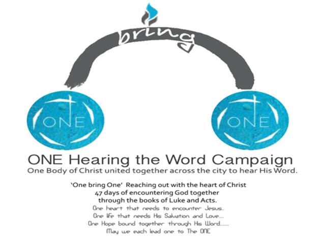 """One"" Hong Kong 2019 Hearing the Word Campaign"