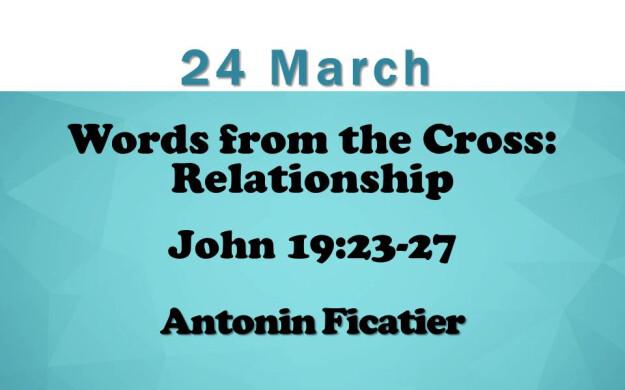 24 March 2019 Sermon Title.