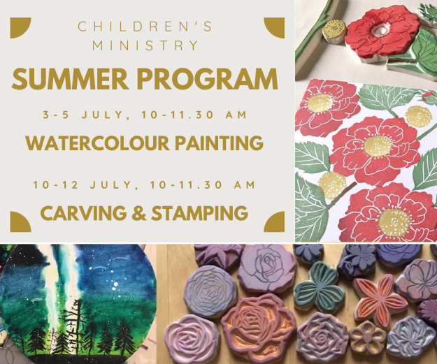 Children's Ministry Summer Program 2019
